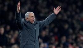Mourinho e uma suspensão original: cozinheiro 'proíbe' treinador de servir almoço de Natal