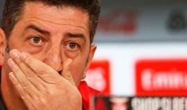 Rui Vitória: «Os jogadores sentem uma revolta interior»