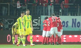 Tondela-Benfica, 0-3 (2.ª parte)