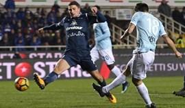 Atalanta e Lazio fecham jornadacom empate a três