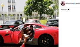 Alan Ruiz: e volta o Ferrari... vermelho