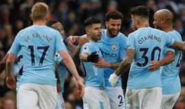 Manchester City goleia Bournemouth (4-0)