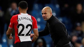 FA absolve Pep Guardiola pelo incidente com Nathan Redmond