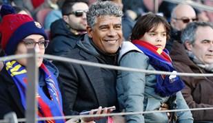 Camp Nou recebeu espectador especial para o Barcelona