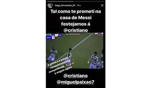 Tiago Fernandes: «Na casa de Messi festejamos à Ronaldo»