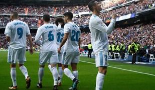 As melhores imagens do Real Madrid-Sevilha