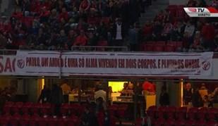 Terceiro anel da Luz deixa mensagem de apoio a ex-colaborador do Benfica que passa por momento difícil