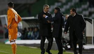 A cara de Couceiro ao ser expulso no jogo com o FC Porto