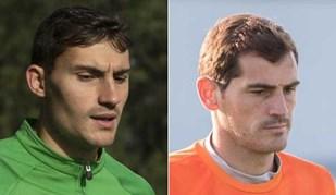 As parecenças entre Casillas... e um jogador do Vilaverdense