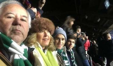 Godinho Lopes em Camp Nou entre os 3 mil sportinguistas