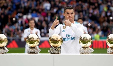 O melhor da história: aí estão as cinco Bolas de Ouro de Ronaldo