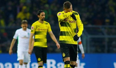 Borussia Dortmund agrava crise com mais uma derrota