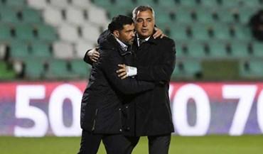 Sérgio Conceição explica ausência de Felipe e revela 'segredo' da dupla atacante