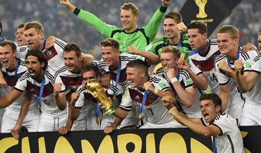 Federação alemã paga 350 mil euros a cada jogador pela conquista do título