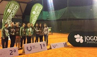 Equipas da Nova e Porto conquistam título de ténis
