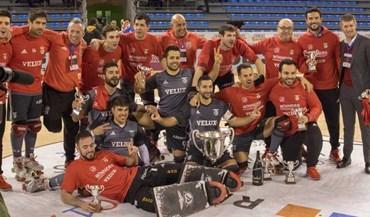 Foi assim que o Benfica celebrou a Taça Intercontinental