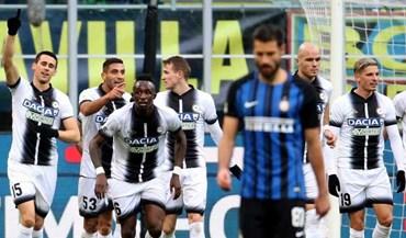 Udinese acaba com invencibilidade do Inter Milão