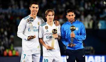 Modric vence prémio de melhor jogador