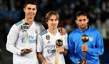 Ex-Benfica no mesmo pódio de Ronaldo