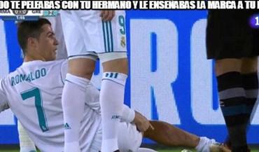 Entrada violenta a Ronaldo ou o espanto de... Kim Jong-un: 'memes' do Mundial de Clubes deram para tudo