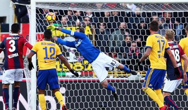 Juventus não facilita em Bolonha e mantém pressão sobre o líder da Serie A