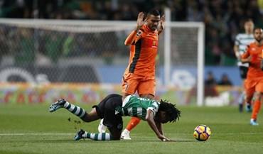 As melhores imagens do Sporting-Portimonense