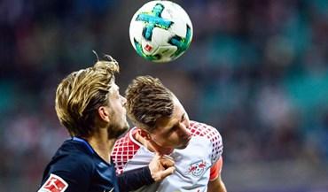 RB Leipzig surpreendido pelo Hertha