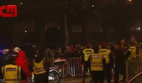 Rui Vitória insultado por adeptos furiosos à saída de Vila do Conde