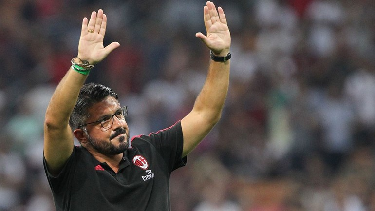 Gattuso para os jogadores do Milan Imaginem que estão numa final da Champions