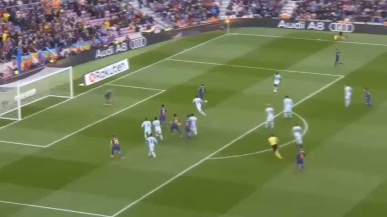 Piqué não se vai esquecer deste falhanço frente ao Celta de Vigo