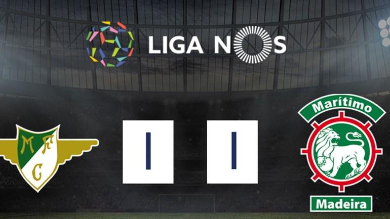 O resumo do Moreirense-Marítimo (1-1)