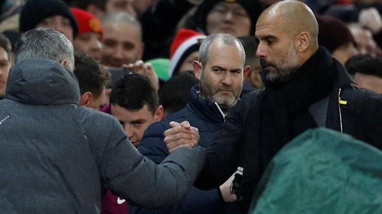 Mourinho e Guardiola: o show também passa por eles