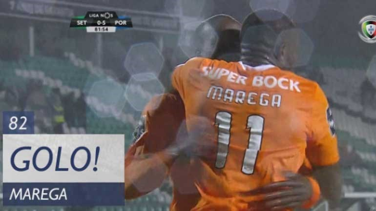 Marega bisa e FC Porto chega à mão cheia de golos