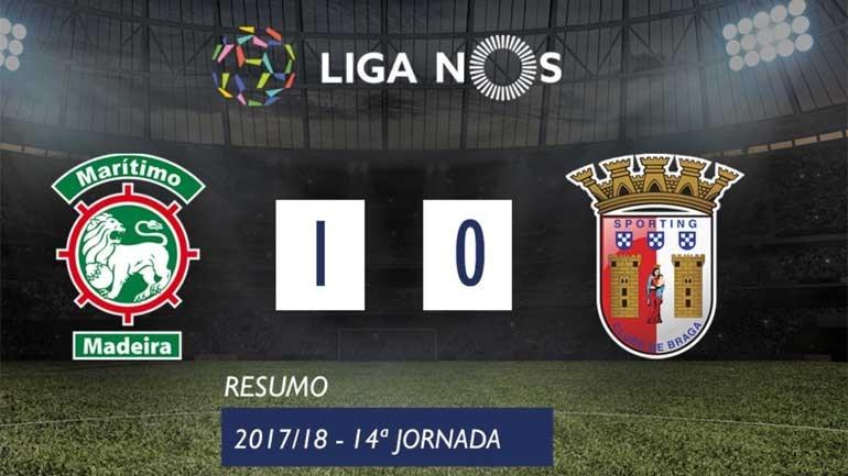 O resumo do Marítimo-Sp. Braga (1-0)