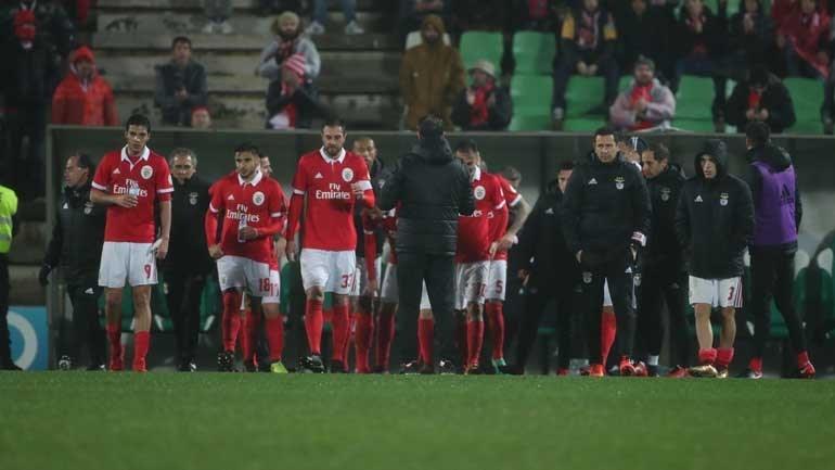 Rio Ave-Benfica, 3-2 (após prolongamento) — Resultado final