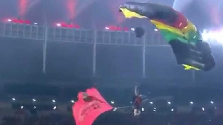 Na final da Taça Sul-Americana a surpresa veio... do céu