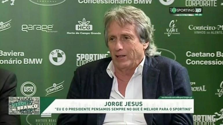 Jorge Jesus revela qual a sua baliza preferida em Alvalade