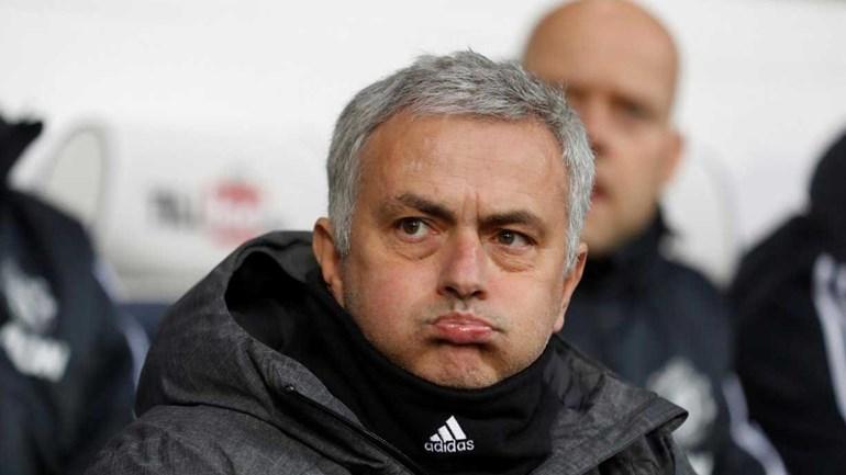Mourinho fez trinta por uma linha antes do jogo com o WBA