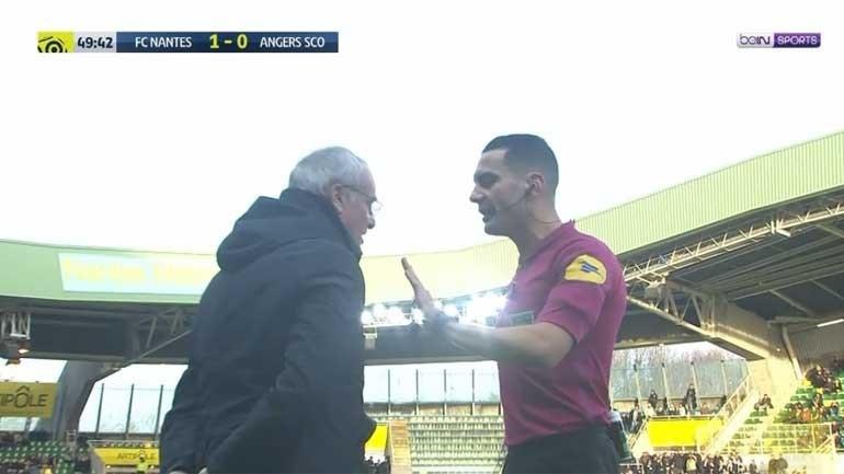 A insólita expulsão de Claudio Ranieri