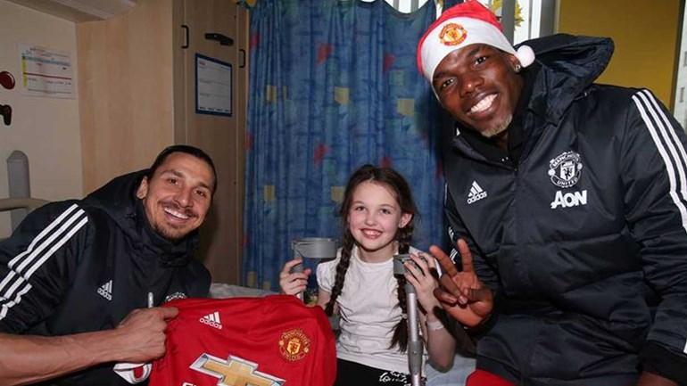 Manchester leva sorrisos a hospital pediátrico em Birmingham