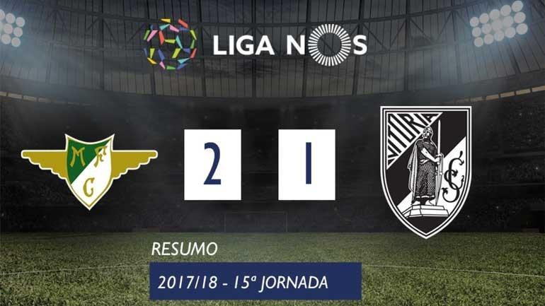 O resumo do Moreirense-V. Guimarães (2-1)