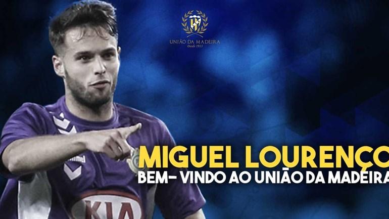 União da Madeira reforça defesa com Miguel Lourenço
