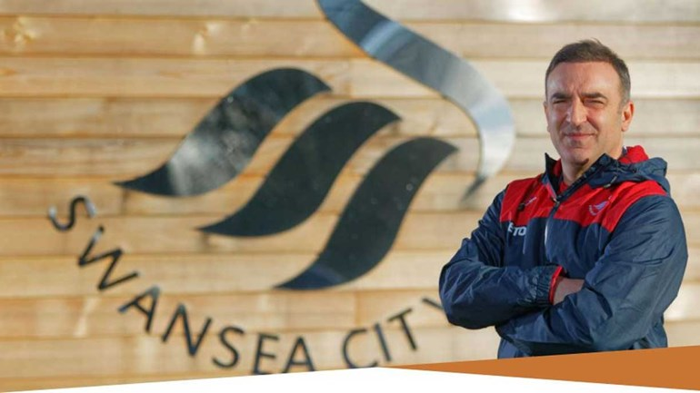 Carlos Carvalhal no Swansea