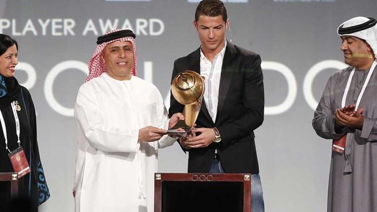 Cristiano Ronaldo e Jorge Mendes premiados