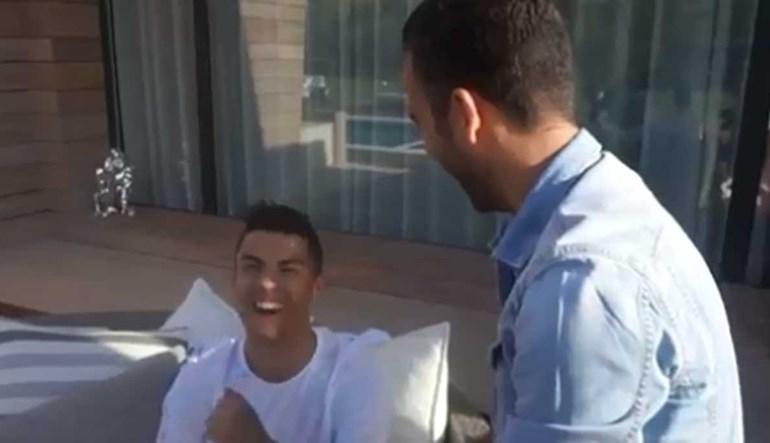 Ronaldo fez uma piada com um avião que poucos podem fazer