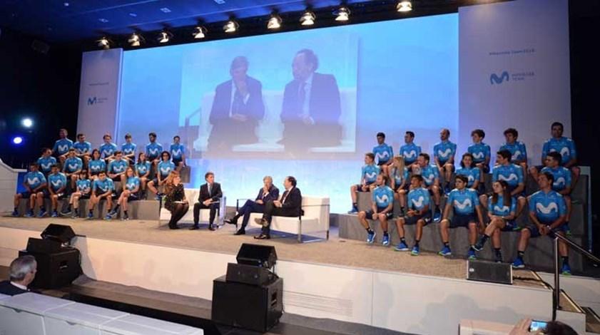 Movistar apresenta-se com Nelson Oliveira e a ambição de vencer o Tour
