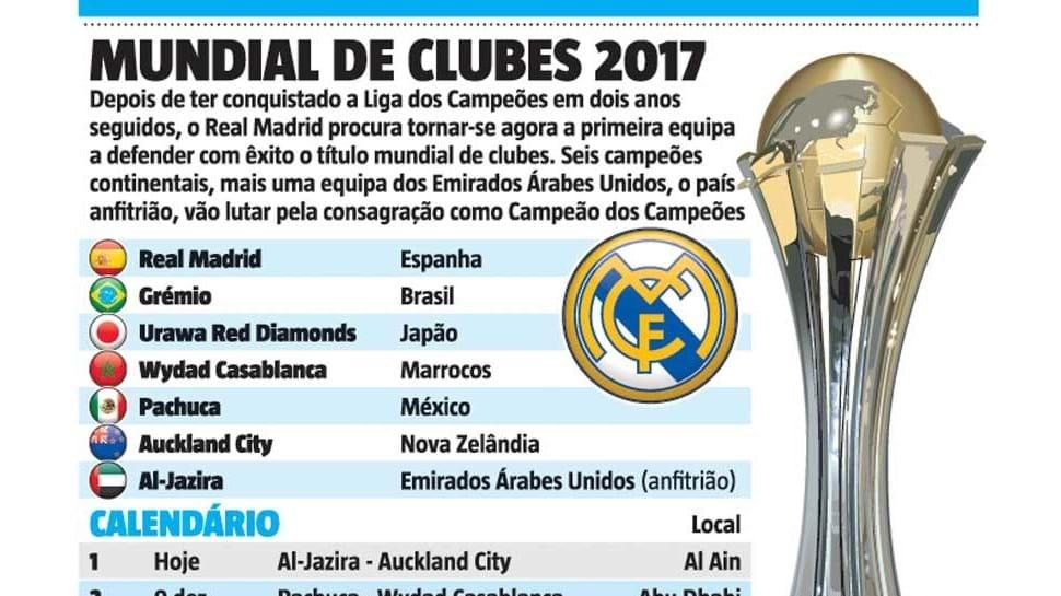 Real Madrid quer voltar a fazer história agora... nos Emirados