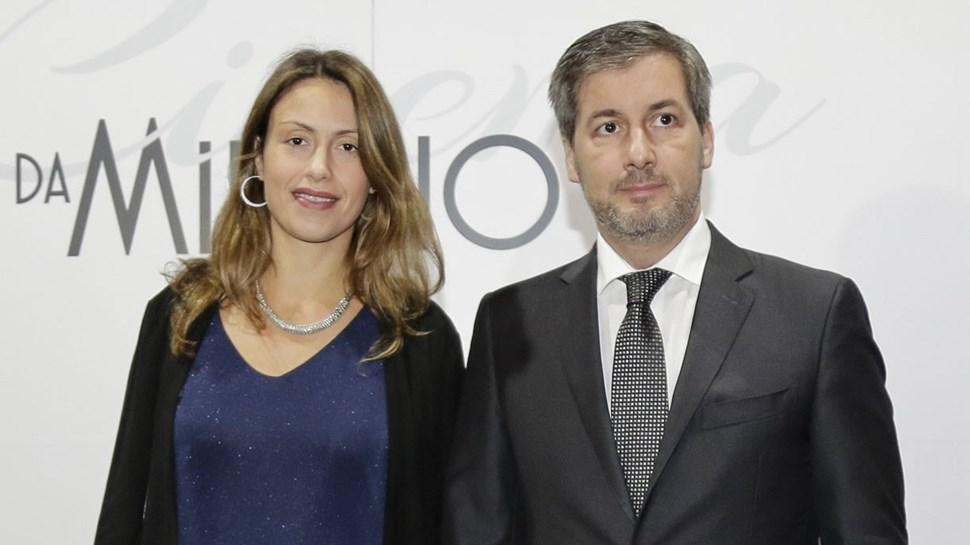 Bruno de Carvalho: festa junta atual e ex-mulher