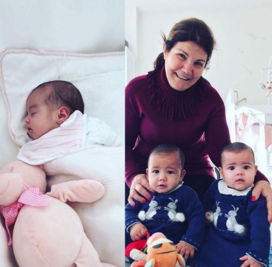 Georgina Rodríguez e Cristiano Ronaldo felizes com os quatro filhos