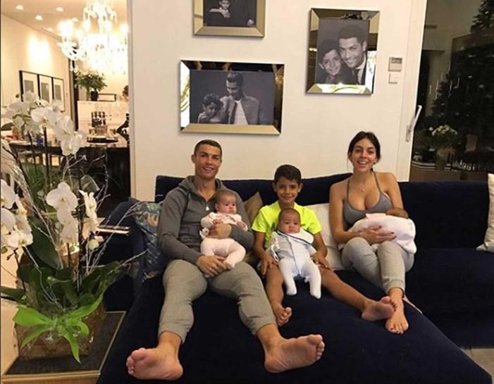 Georgina Rodríguez partilha momento em família